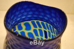 Adriano dalla Valentina for Oggetti art glass vase, 2002 Murano Glass