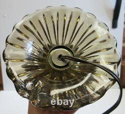 Antique MID CENTURY MODERN ITALIAN MURANO ART GLASS LAMP
