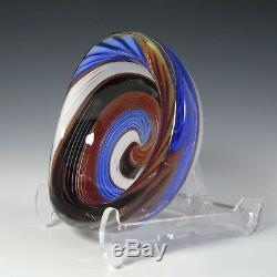Aureliano Toso / Dino Martens Mezza Filigrana Glass Bowl