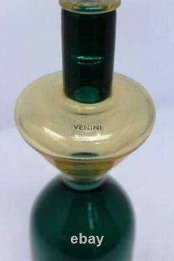 Bottle Murano Bottle Vase designed by Gio Ponti for Venini