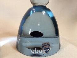 C1960s Antonio da Ros Cenedese Murano Italy Sommerso Glass Candle Stick Holders