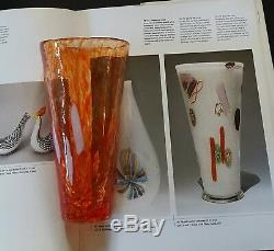 Dino Martens for Aureliano Toso Orange A mace Vase PUBLISHED