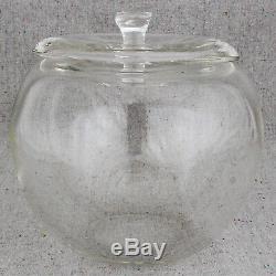 Elsa Peretti Tiffany & Co Murano Glass New York Apple Ice Bucket Jar Canister