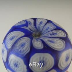 Fratelli Toso Millefiori Canes Murano Glass Vase #3