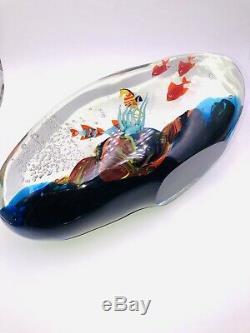 Gigantic / Huge Murano Aquarium Art Glass Sculpture Aquarium Artistry A++ Pric