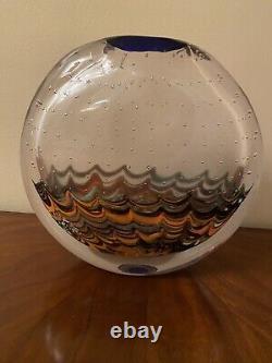 Gorgeous Salviati lungomare Vase Hand Blown Murano