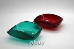 Hand-blown Original Glass Bowl by Carlo Scarpa for Venini & C. Murano