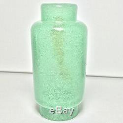 Important Carlo Scarpa 1930s Bollicine Art Glass Flask Bottle for Venini