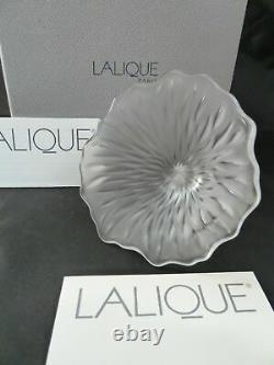 Lalique Flower Married to a Murano Millefiori Hand Blown Perfume Bottle Wacky