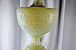 MARBRO MURANO OPALESCENT GLASS BRASS HUGE LAMP Barovier hand-blown 1950
