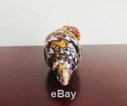 MURANO ART GLASS CONCH SHELL HAND BLOWN ITALY Multicolor