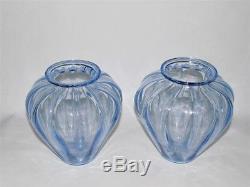 Martinuzzi Costolato Murano Glass Vases JUST REDUCED + FREE SHIPPING