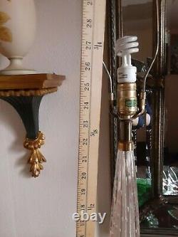 Murano Glass Lamp Pair, Barovier & Toso, Mid Century Lamp 1930s Hand Blown
