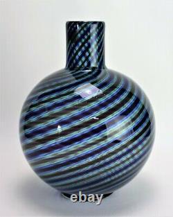 Murano Glass Vase Barovier & Toso Original label