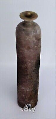 Murano Glass Vase Cenedese Scavo