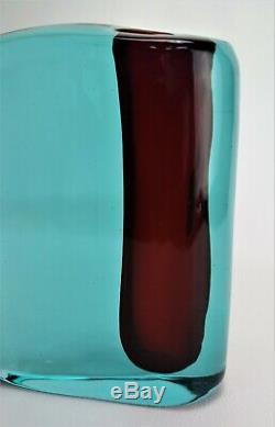 Murano Glass Vase Vintage Cenedese