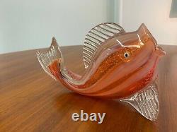 Murano Hand Blown Italian Glass Fish