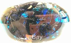 Murano Hand Made Art Glass by Stefano Tosa, Fish Bowl Aquarium, Signed