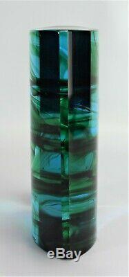 Murano glass Object Signed Carlo Moretti Monolith Sculpture