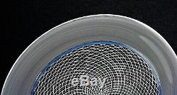 Murano glass Platter Italy Effetre International Signed by Lino Tagliapietra