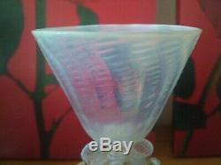 Murano glass goblet Venetian SALVIATI style stunning cabinet collectors item