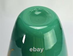 Murano glass vase Venini Toots Zynsky 1984