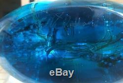 Oggetti By Artisan Elio Raffaeli Sea Life Aquarium Blown Art Glass Sculpture
