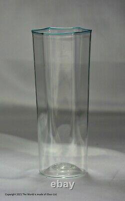 Part set of 4 hexagonal glass Pagliesco tumblers, Carlo Scarpa for Venini