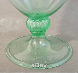 RARE Early 1920s VENINI Murano Art Glass 10.25 VERONESE VASE VITTORIO ZECCHIN
