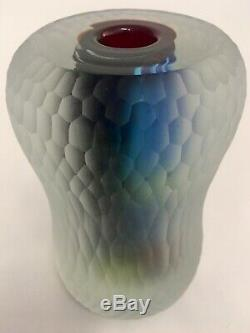 Rare Murano Glass gomitolo Vase by Dino Martens for Aureliano Toso