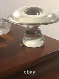 SIGNED LICIO ZANETTI MURANO ART GLASS Hand/Mouth Blown MUSHROOM