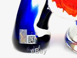 SIGNED World Class Murano Italian Picasso Style Scary Face Sculpture By Badioli