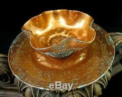 Salviati Murano Aventurine Venetian Art Glass Bowl Plate Set w Blue Overshot