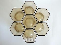 Seven Murano Art Glass Tumblers, Probably Carlo Scarpa for MVM Cappellin 1920s