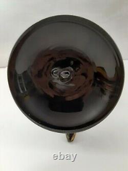 Venetian Murano Glass Blackamoor Figurine (Borovier & Toso) with Label