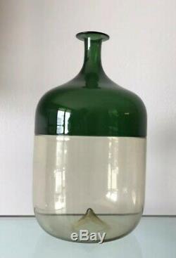 Venini Tapio Wirkkala Incalmo Bolle Vase 9 Signed TW 81 Model 503.02 Excellent