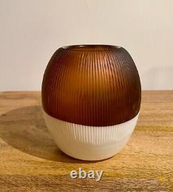 Venini Thomas Stearns Nebbie Lunari Murano Glass Vase