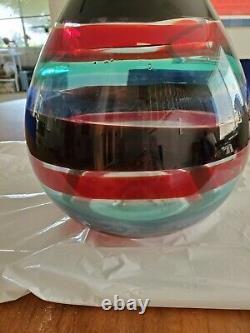 Venini glass vase 1951 Fulvio Bianconi
