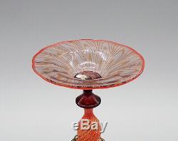 Very Fine Davide Fuin Murano Glass Goblet