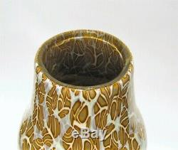 Vittorio Ferro Murano Glass Vase Murrinas. No Venini